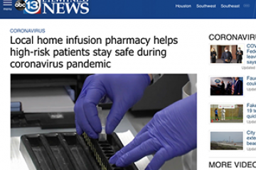 HealthQuest Infusion & Specialty featured on ABC News as key resource for the vulnerable during COVID-19